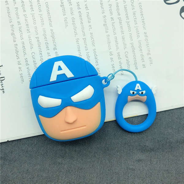 Captain America Air Pods Case