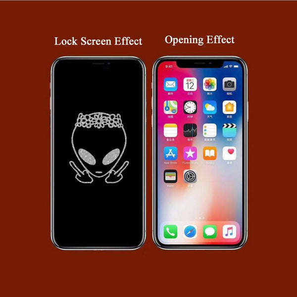 ET Stealth Cartoon Pattern Tempered Glass Film