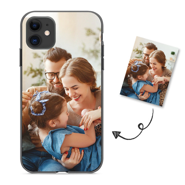 Custom iPhone Case - All iPhone Types Personalized Photo Phone Cases