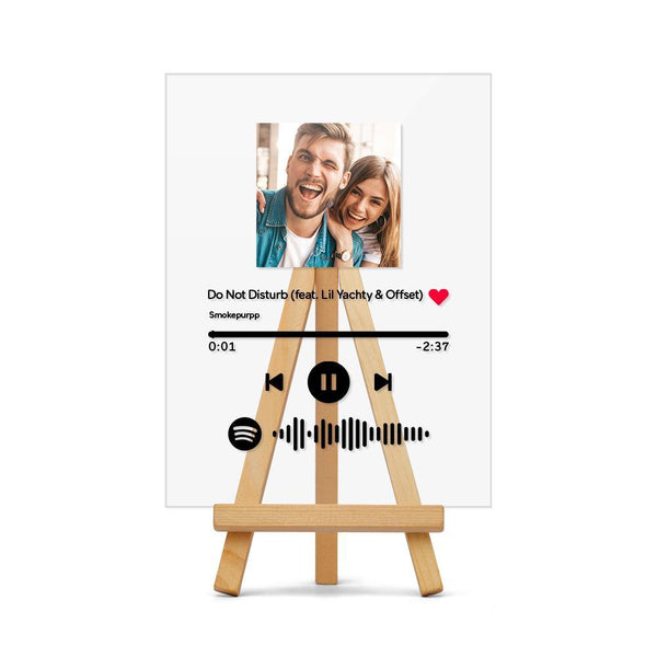 Spotify Plaque Stand