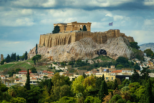 The Acropolis by Day