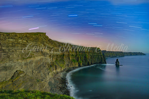 Cliffs of Moher Star Trails