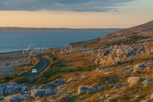 Evening Light in The Burren