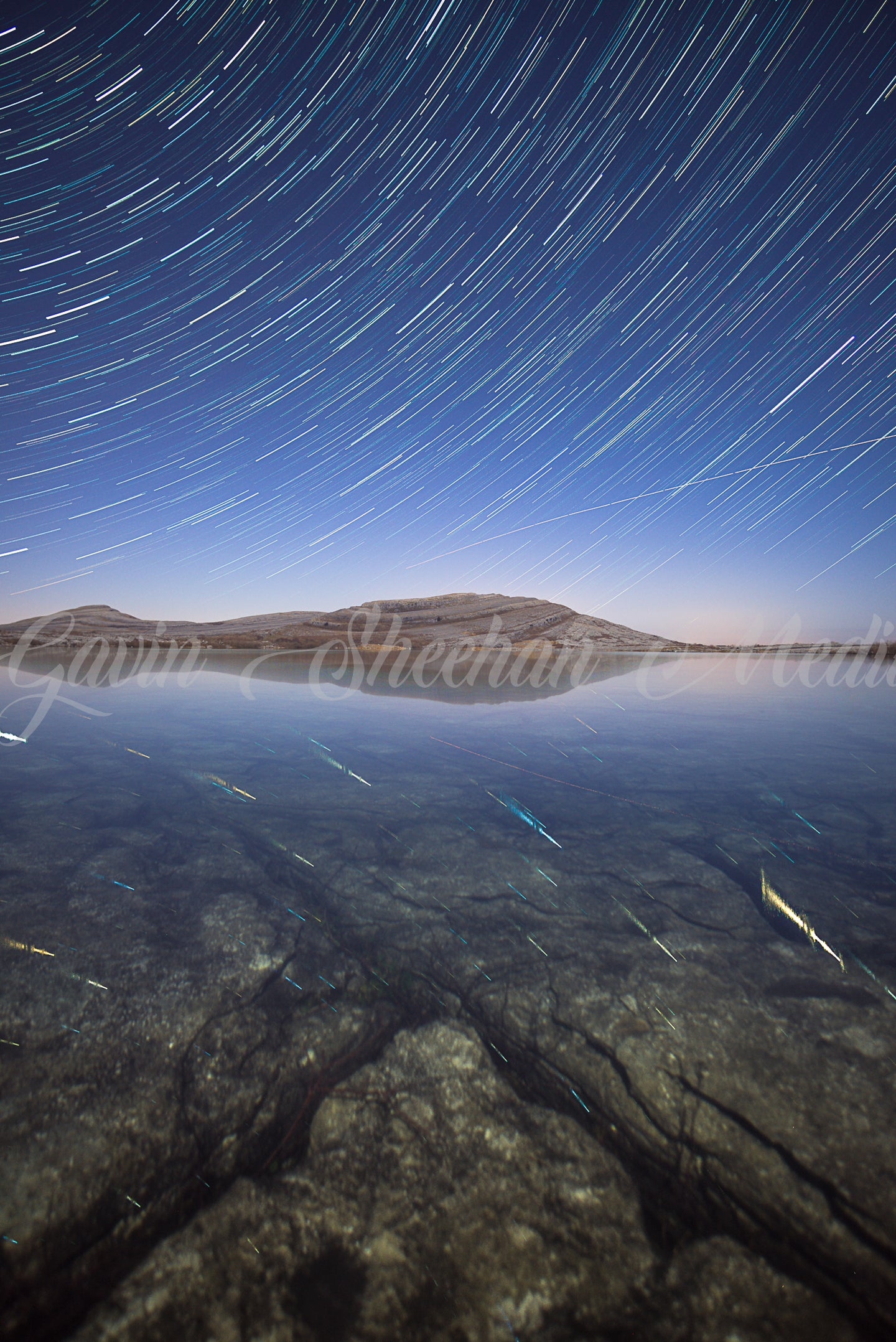 Mullaghmore Star Trails