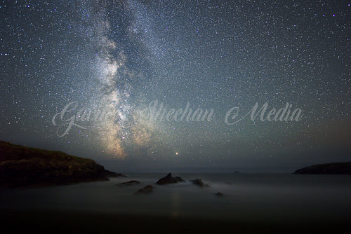 Milky Way Core Over St. Finians Bay