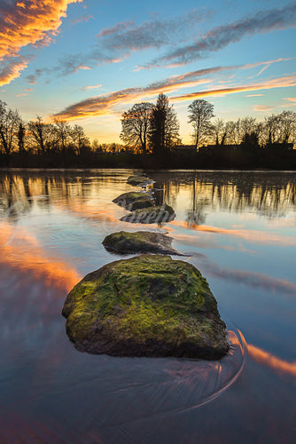 Stepping Stone Sunset