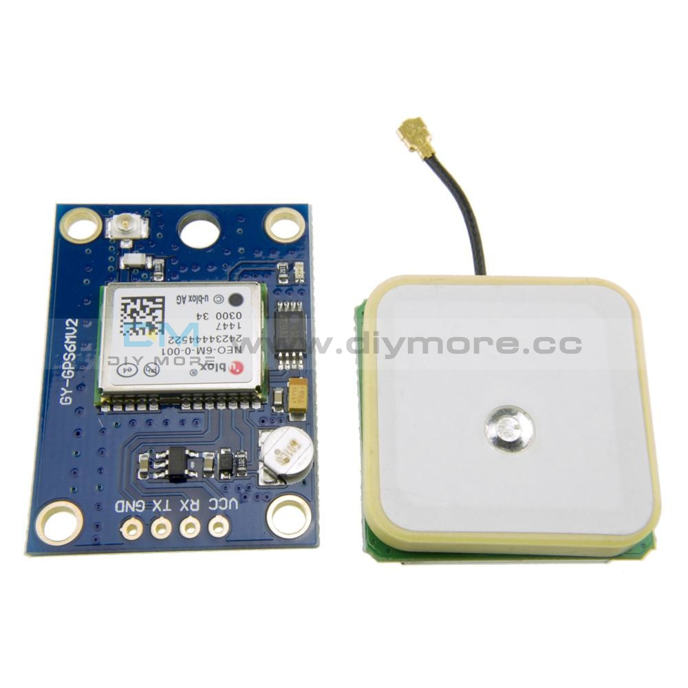 Ublox Neo-6M Gps Module Aircraft Flight Controller For Arduino Mwc Imu Apm2 Gps/gprs