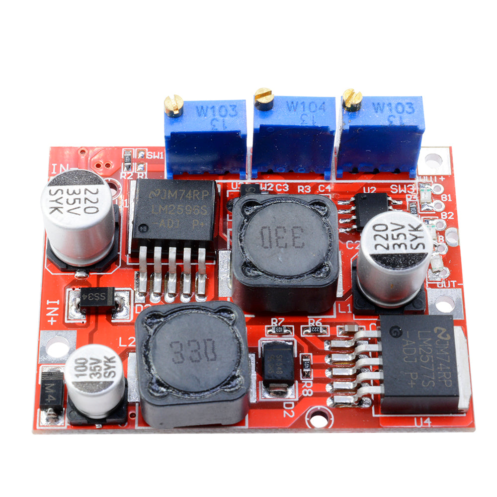 DC-DC Step Up Down LM2577S LM2596S Power Boost Buck Voltage Converter Module