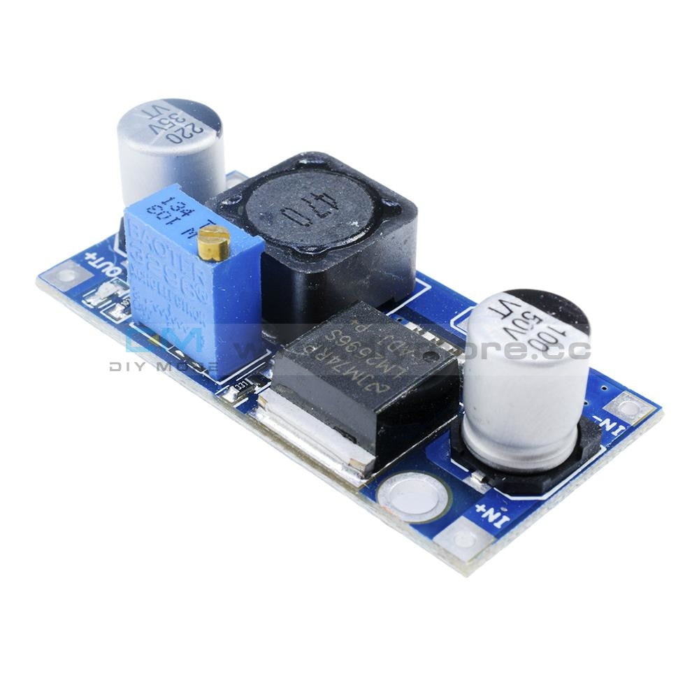 Dc-Dc Lm2596 Power Supply Buck Converter Adjustable Step Down Module