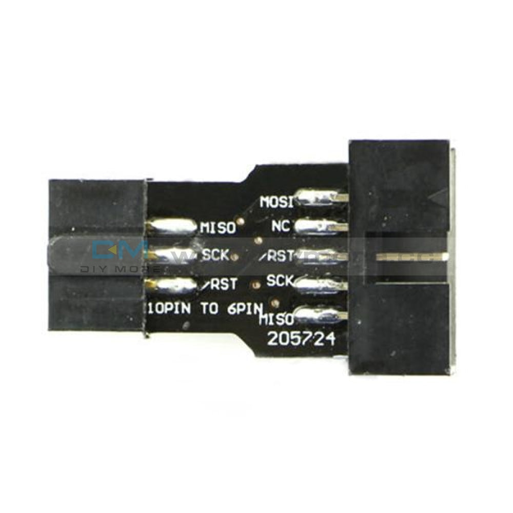 10Pin To 6Pin Interface Adapter Converter For Avrisp Mkii Module