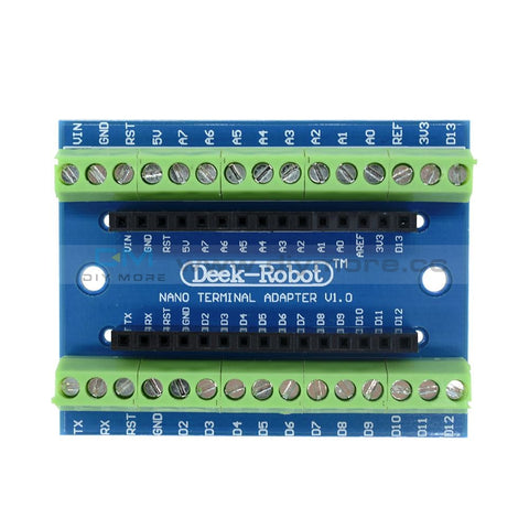 Nano Screw Terminal Adapter Shield Expansion Board V3.0 Avr Atmega328P-Au Module For Arduino