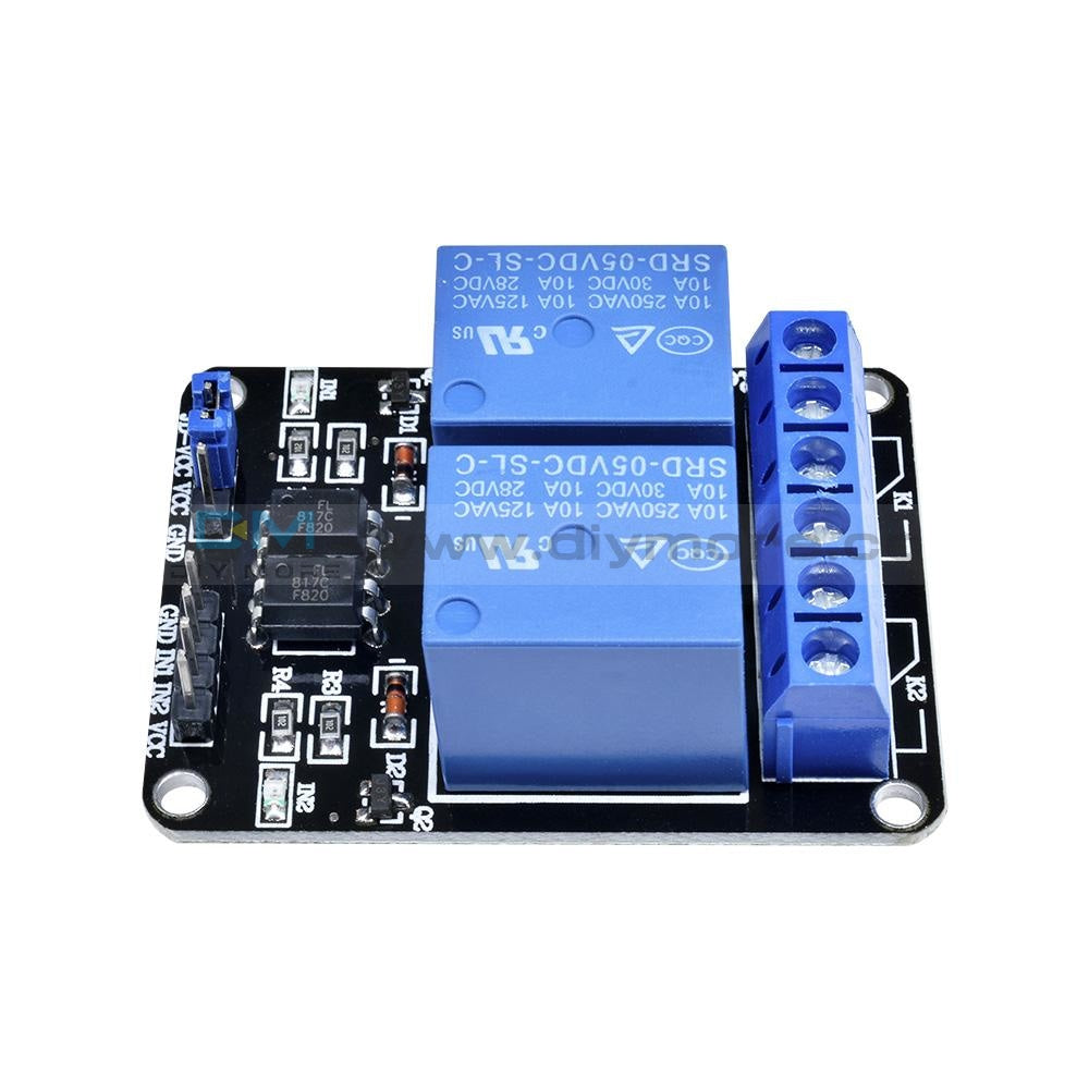 5V Dc 1 Channel Solid-State Relay Board Module High Level Fuse For Arduino 1-Channel Delay