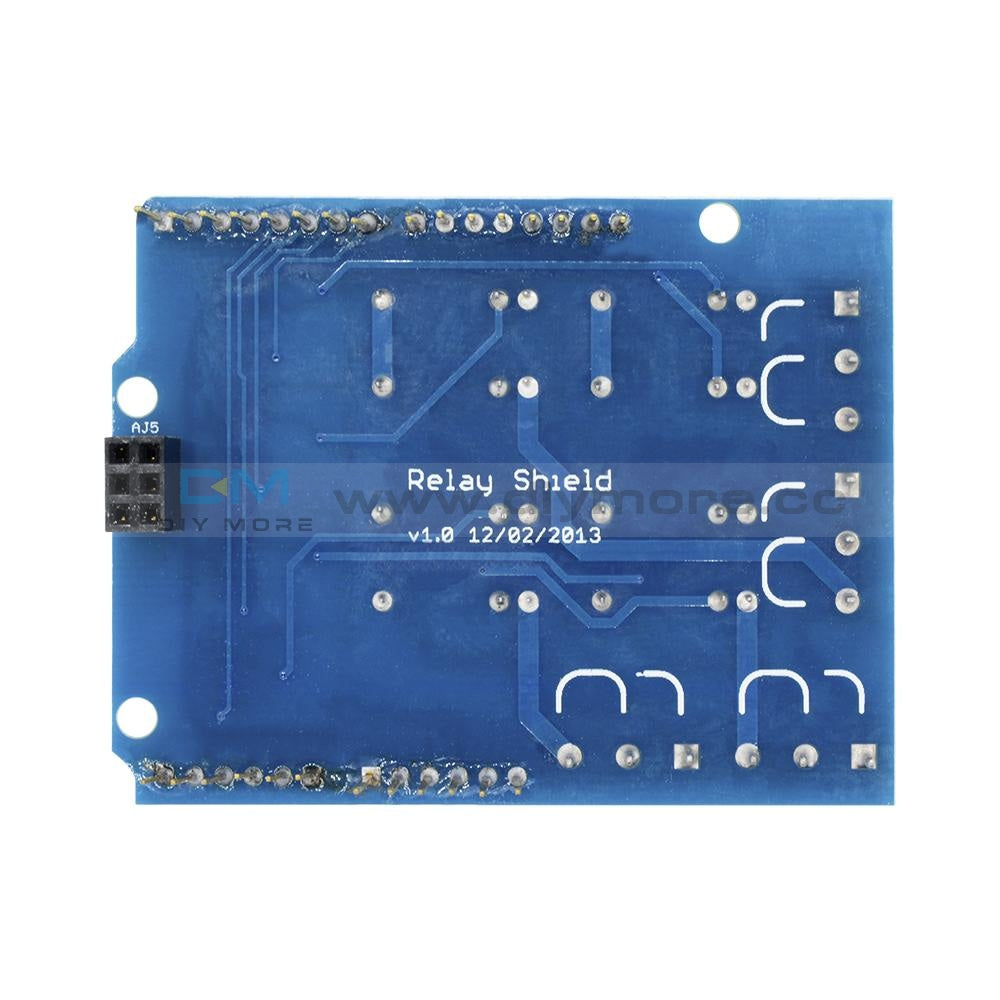 Four Channel Relay Shield 5V 4 Module For Arduino 4-Channel Delay