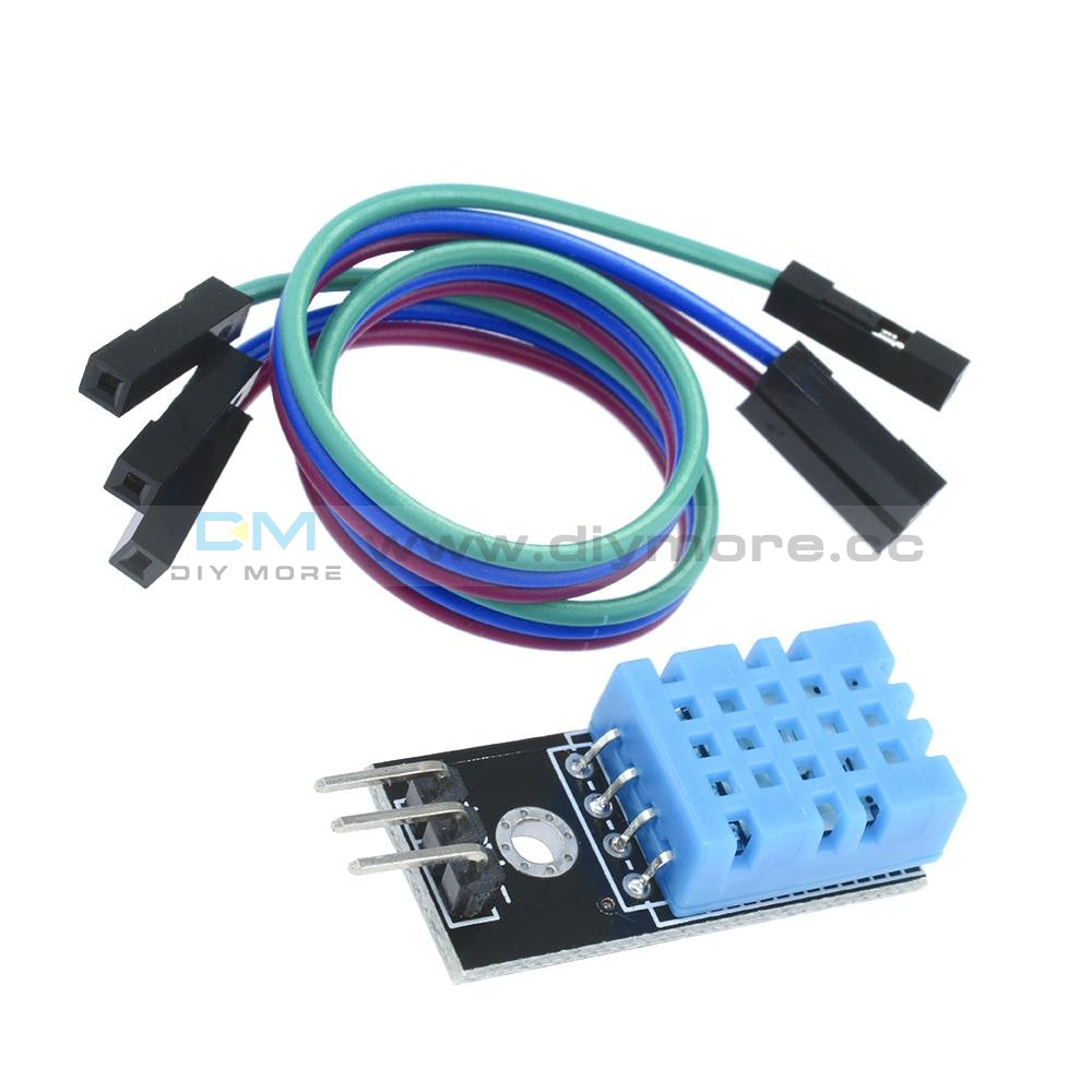 Dht11 Temperature And Relative Humidity Sensor Module For Arduino
