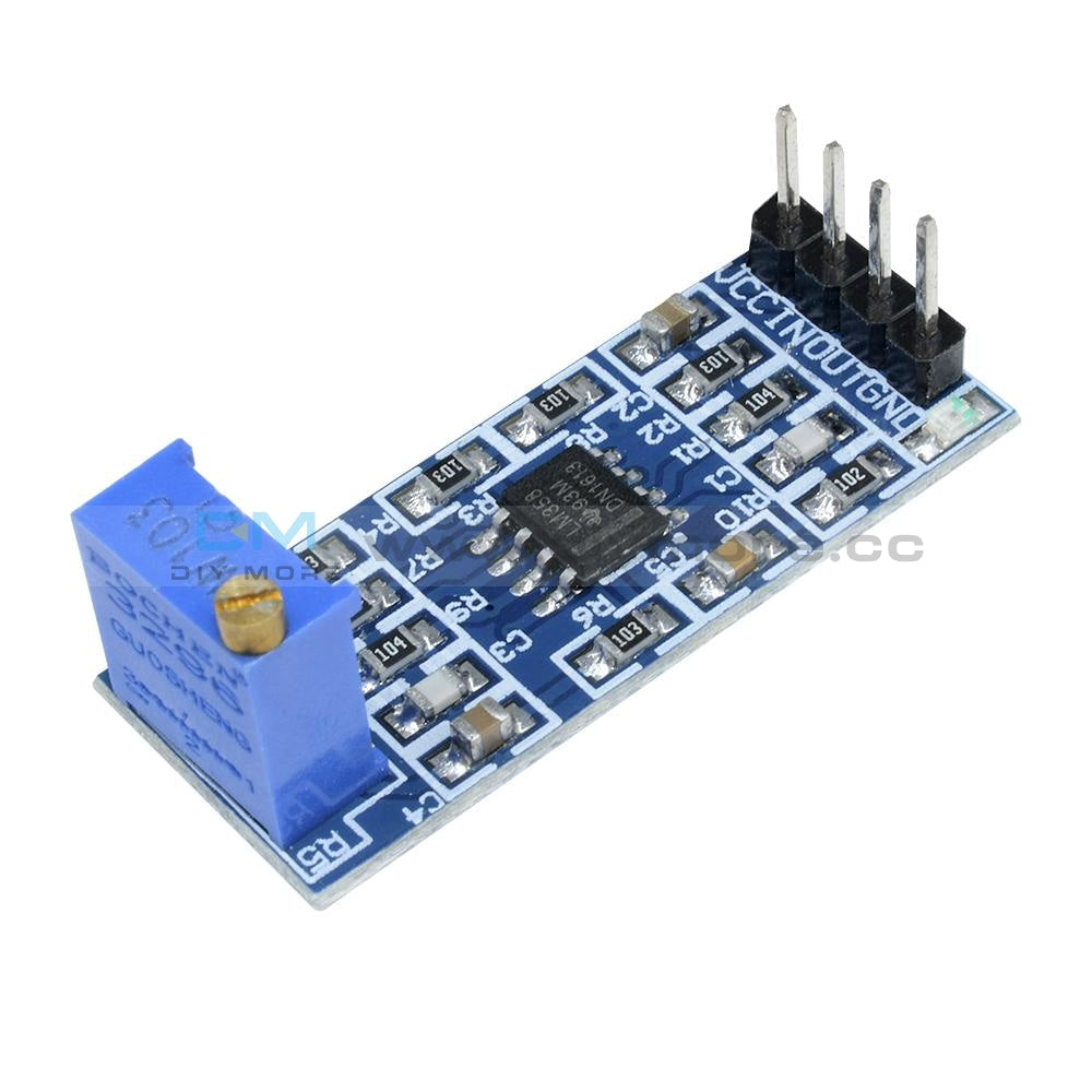 Lna 0.1-2Ghz Gain 64Db Rf Broadband Amplifier Board Low Noise Module Dc 12V Noice