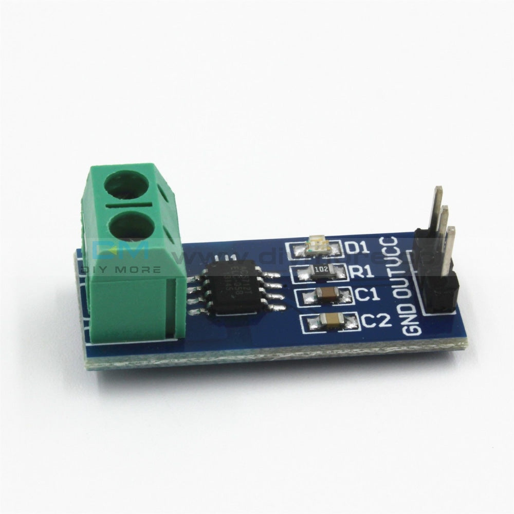 Acs712 5A Range Current Sensor Module Board For Arduino 5V Hall Expansion Shield