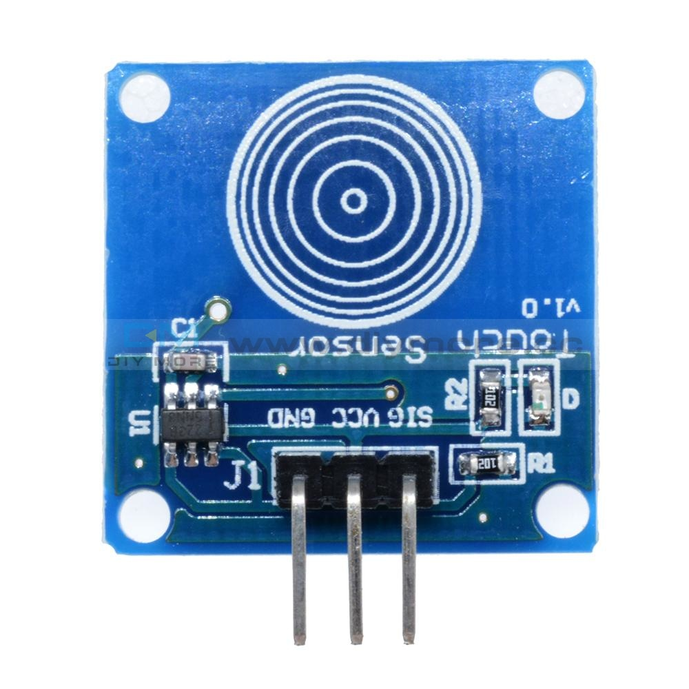 Ttp223 Ttp223B Jog Digital Touch Sensor Capacitive Switch Modules Accessories For Arduino Low Power
