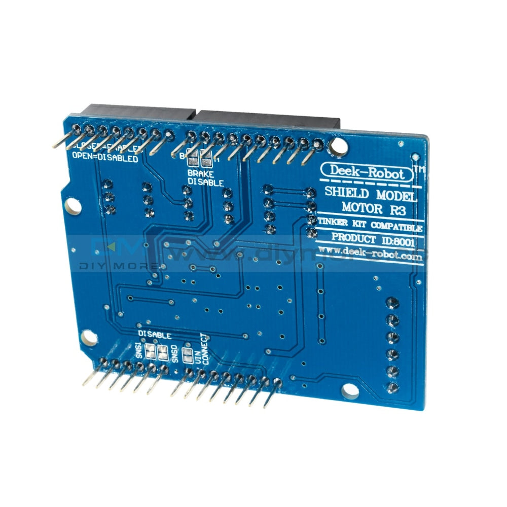 L298P Shield Expansion Board Dc Motor Driver Module 2A H-Bridge 2 Way For Arduino Uno R3 Mega2560