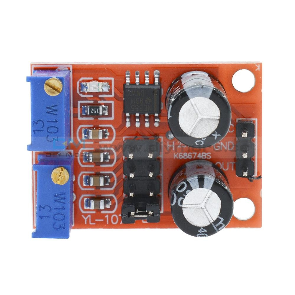Ne555 Frequency Wave Stepper Motor Driver Adjustable Module Duty Cycle Square Wc