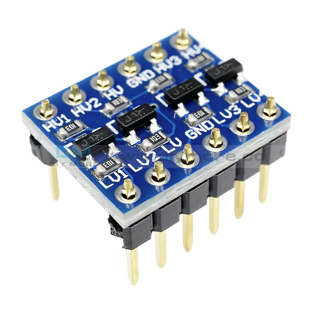 Iic I2C Logic Level Converter Bi-Directional Module 5V To 3.3V For Arduino