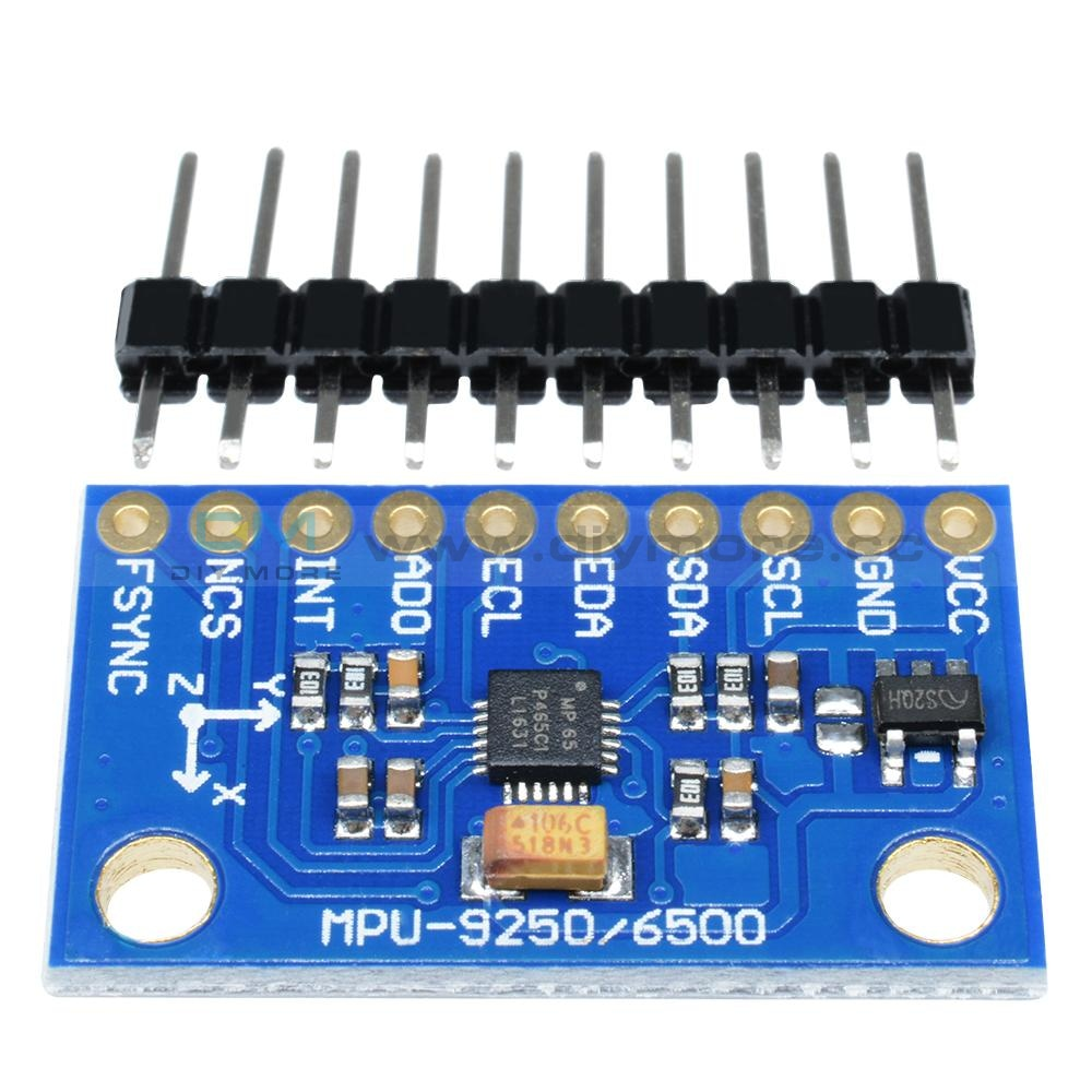 Mpu-6500 3 Axis Gyroscope And Accelerator Sensor Replace Mpu-6050 For Arduino Motion Module