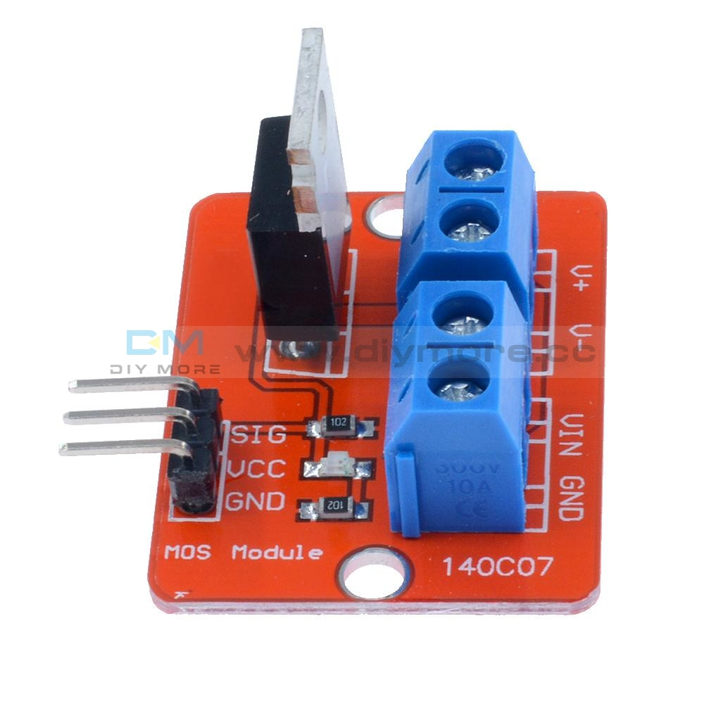 Mosfet Button Irf520 Driver Module For Arduino Arm Raspberry Pi 1Pcs/5Pcs Motor Speed Controller