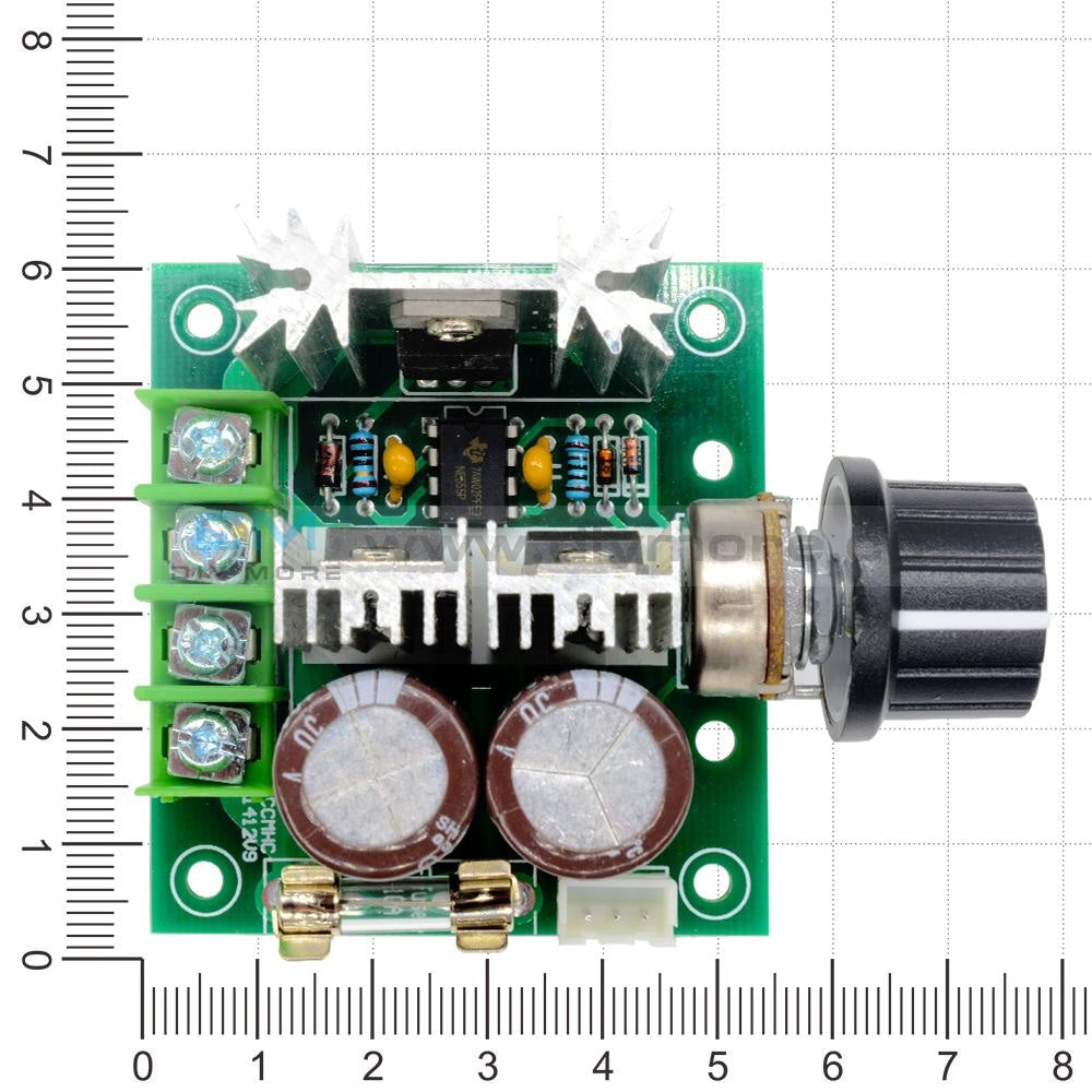 12V-40V 10A Pwm Dc Motor Speed Control 13Khz Pulse Width Modulation Switch Controller