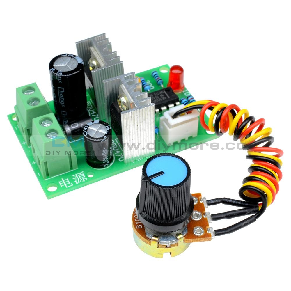12V-36V Pulse Width Pwm Dc Motor Speed Regulator Controller Switch 12V 24V 3A Al