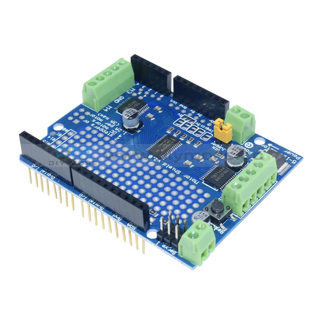TB6605 Sine Wave//Square Wave seeed studio BLDC Motor Shield Brushless Motor Driver for Arduino Compatible System 9V-24V Input I2C Interface Multiple Modes CW//CWW Brake//Normal