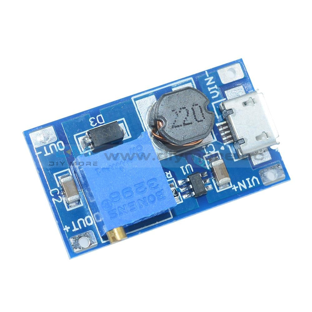 2A Booster Board Dc-Dc Step-Up Module 2/24V To 5/9/12 / 28V Replace Xl6009 Step Up Module