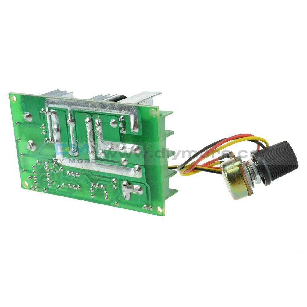 20A Universal Dc10-60V Pwm Hho Rc Motor Speed Regulator Controller Switch Gm