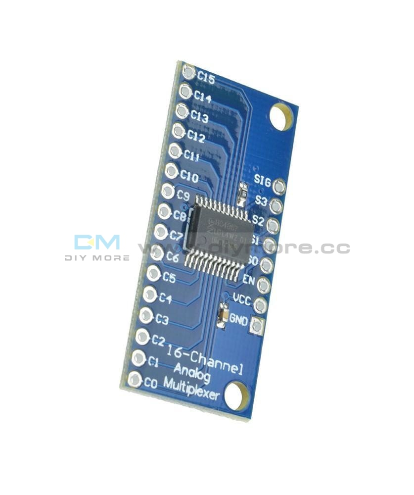 Cd74Hc4067 16 Ch Analog Digital Mux Breakout Board Module Arduino Precise Function
