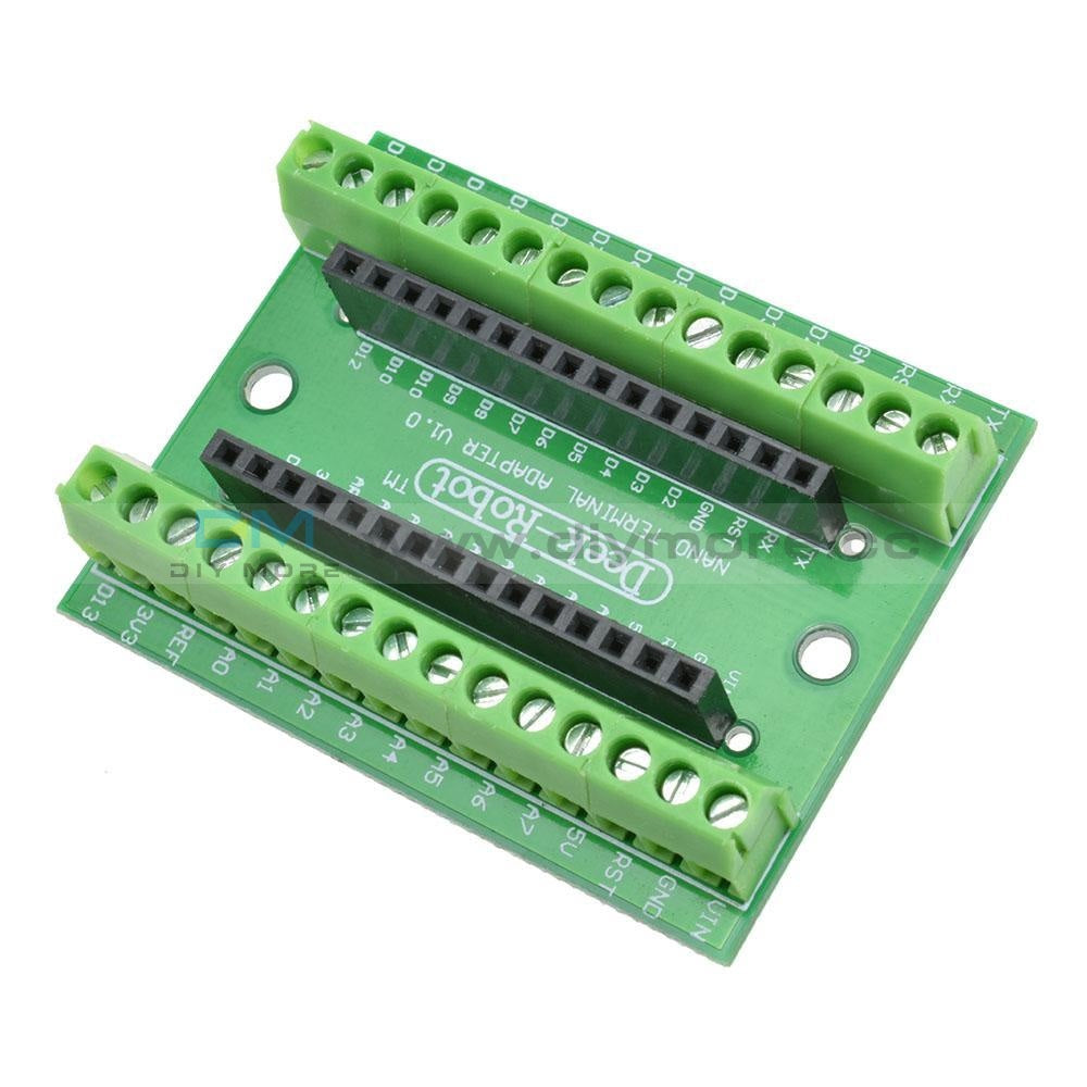 Nano V3.0 Controller Terminal Adapter Shield Expansion Board Nano Avr Atmega328P Io Module For