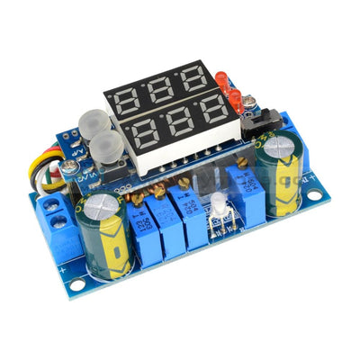 5A Mppt Solar Panel Controller Dc-Dc Step-Down Cc/cv Charging Module Led Dual/single Display Step
