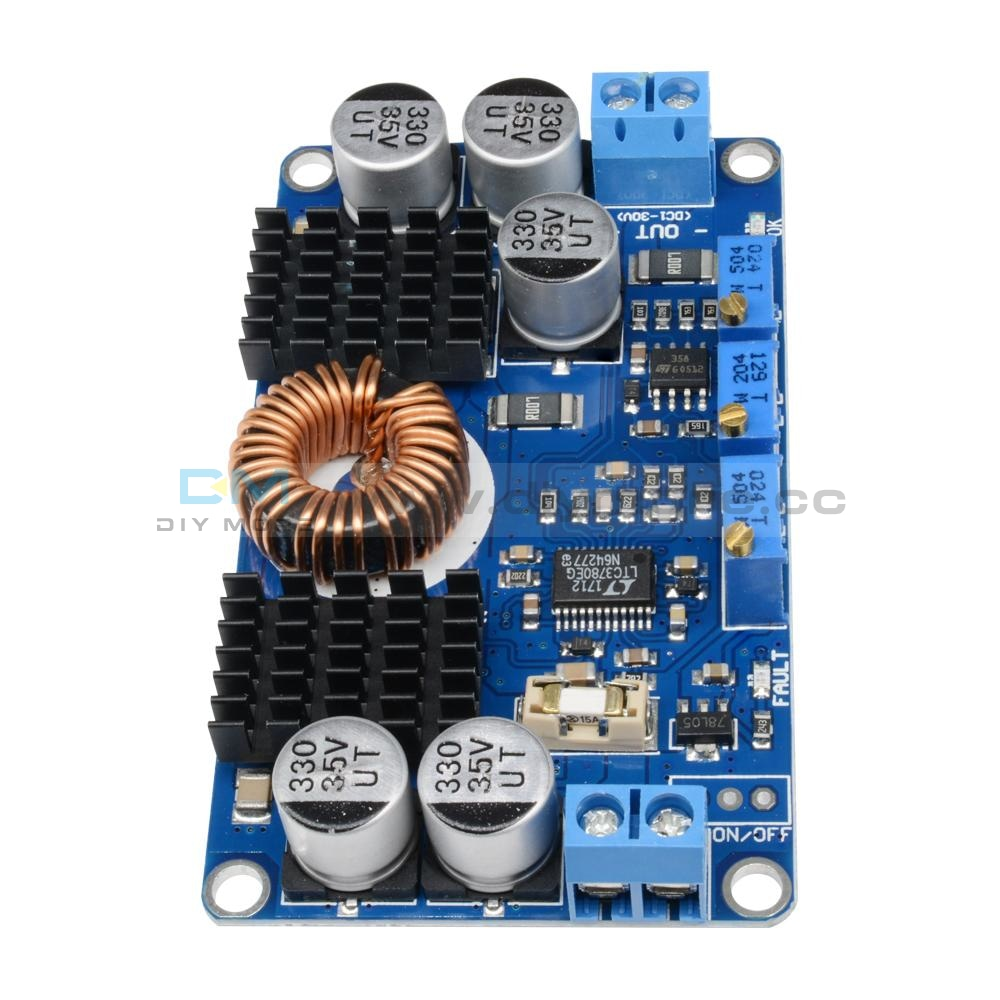 Dc 5V-32V To 1V-30V 10A Ltc3780 Automatic Step Up Down Regulator Charging Module Up/down