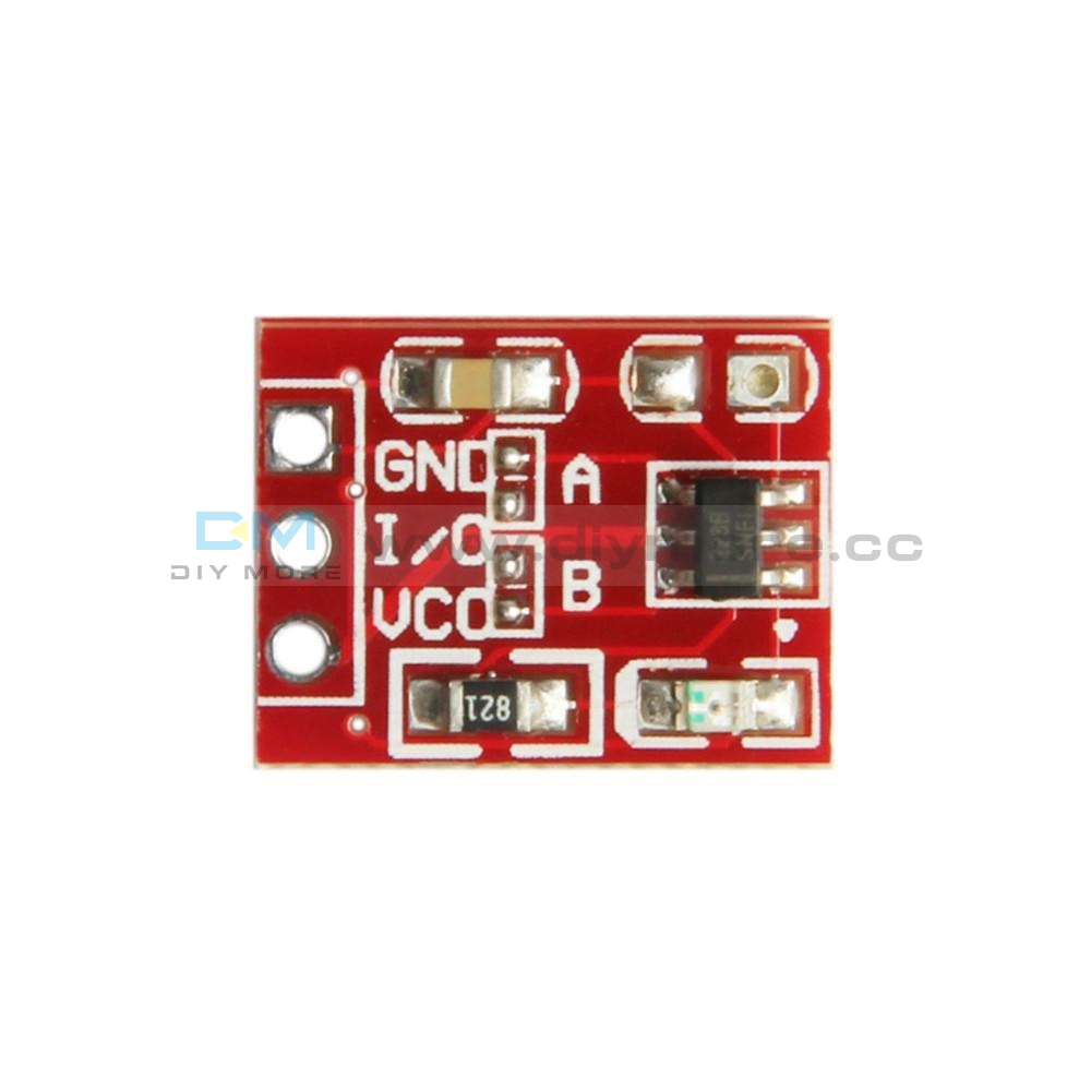 10Pcs Ttp223 Touch Key Module Capacitive Settable Self-Lock/no-Lock Switch Sensor