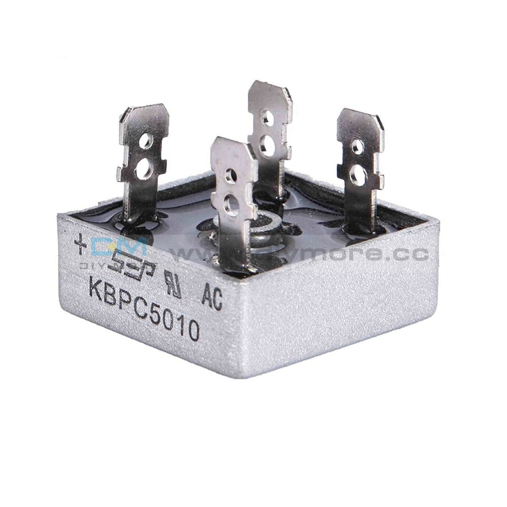 50A 1000V Metal Case Single Phases Diode Bridge Rectifier Kbpc5010 Tools