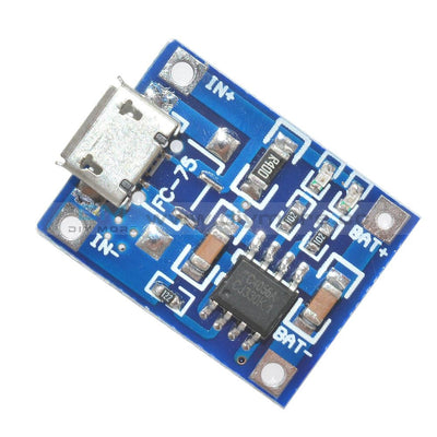 Micro Usb Tp4056 5V 1A Lithium Battery Charging Module Board Protection