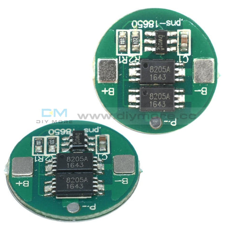 Dual Mos 18650 Battery Protection Board Charge For Lithium Protection Board