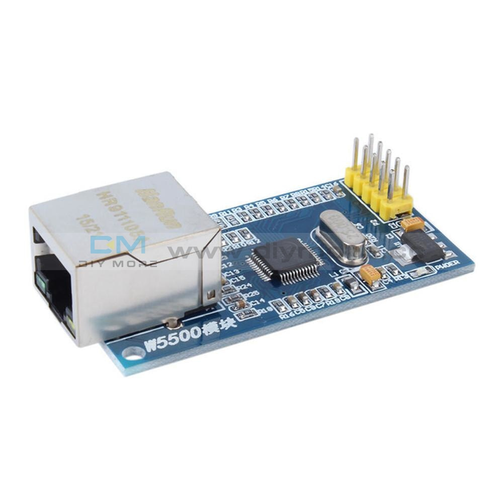 Ethernet Network Modules W5500 Tcp/ip 51/stm32 Spi Interface For Arduino Module