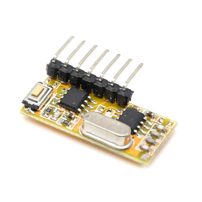 RXC6 433Mhz Superheterodyne Wireless Receiver PT2262 Code Steady for Arduino/AVR Diy  Module Electronic Diy Kit Pcb Board