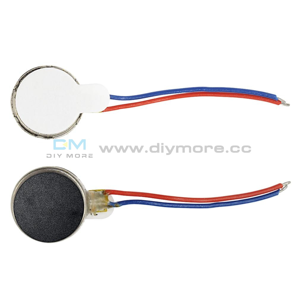 Coin Flat Vibrating Micro Motor Dc 3V 8Mm For Pager And Cell Phone Mobile Driver Module