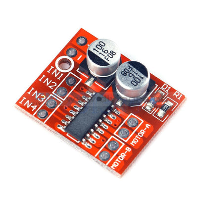 1.5A Mini Dual Channel Dc Motor Driver Module L298N Pwm Speed Control
