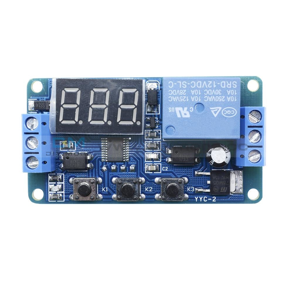Diagram 12v Led Automation Delay Timer Control Switch Relay Module