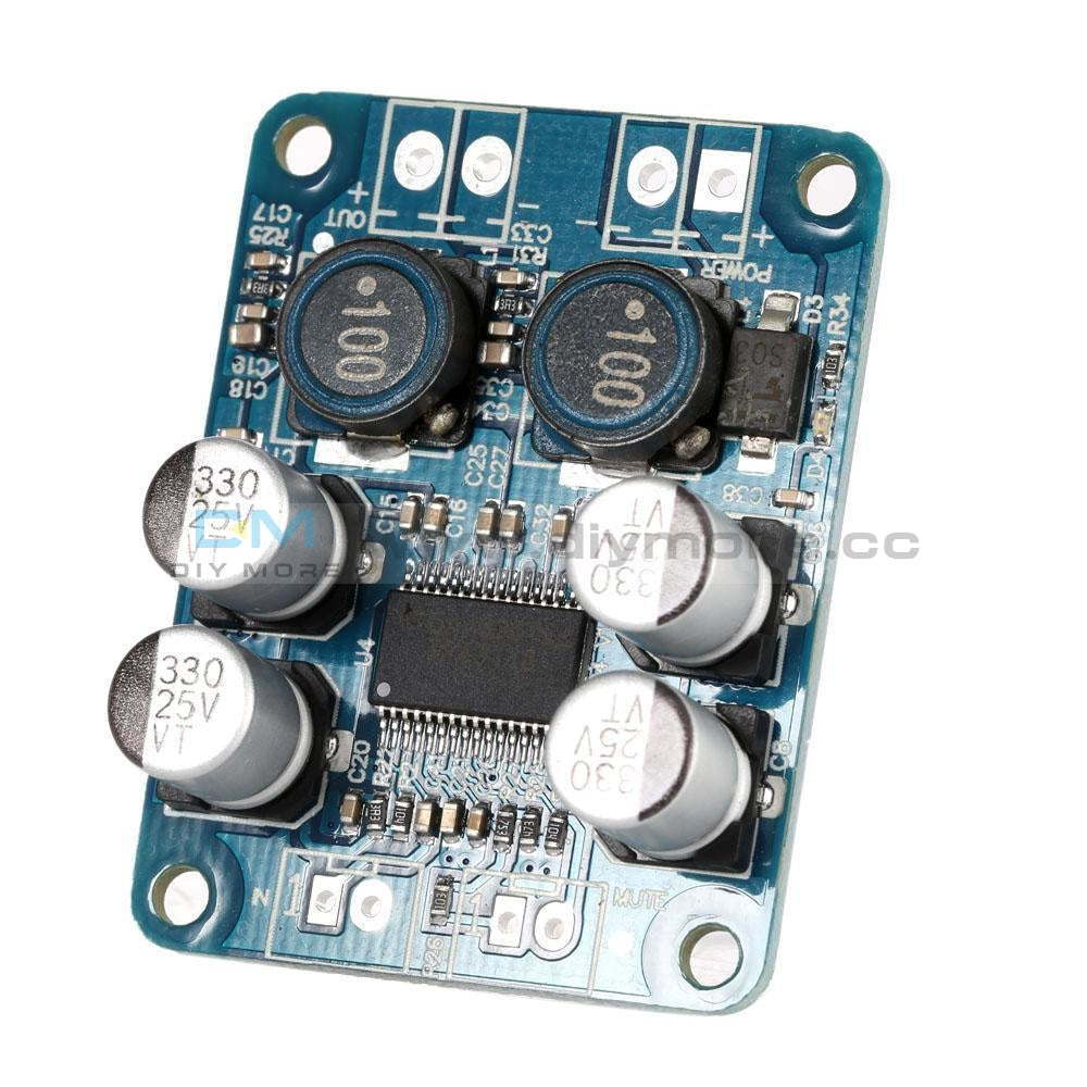 DC 12V 24V 100W TPA3116DA Mono Channel Digital Power Audio Amplifier Board