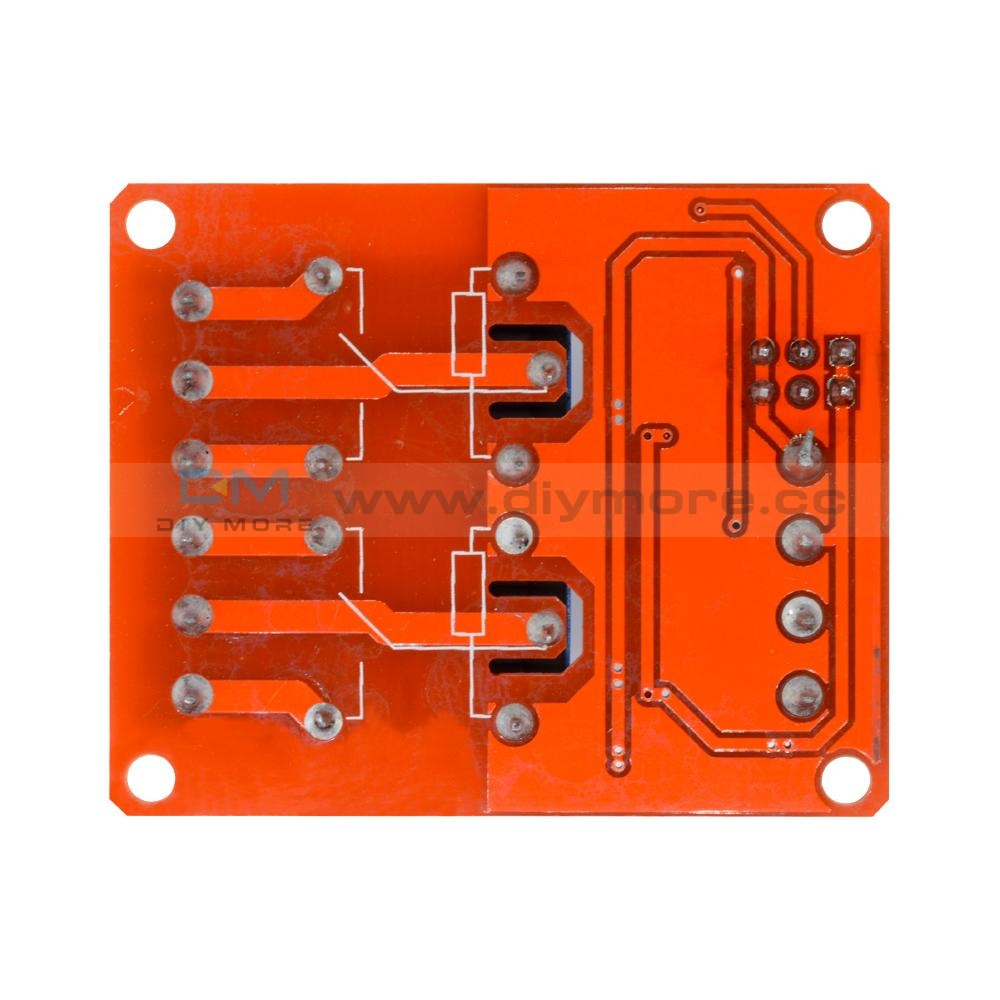 5V 2 Channel Relay Module With Optocoupler Support High And Low Level Trigger 2-Channel Delay