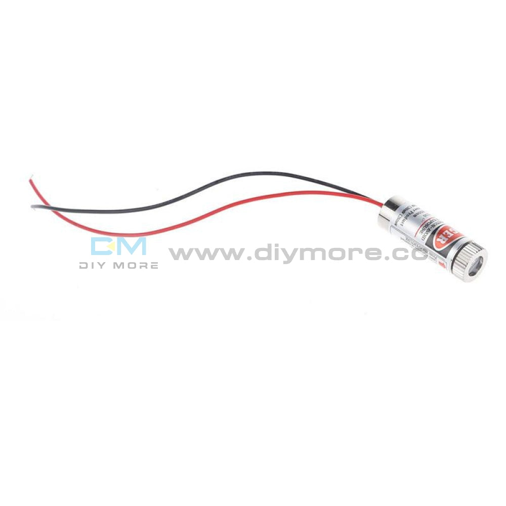 650Nm 5Mw Red Line Laser Module Head Glass Lens Focusable Industrial Class Grade 3V 5V Flame Sensor