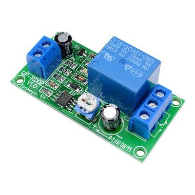 NE555 DC 12V 0~60 Seconds Delay Timer Time Switch Adjustable Time Relay Module