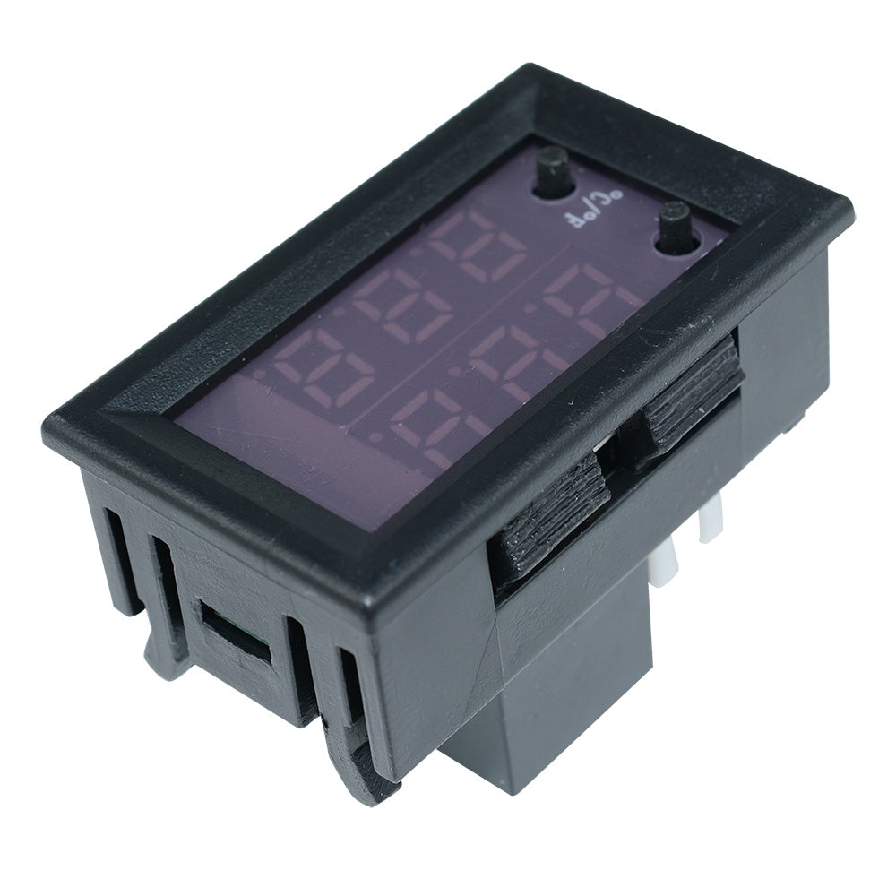 Mh1220W 10A Digital Dual Display Temperature Controller Thermostat Dc 12-72V/ac 110-220V