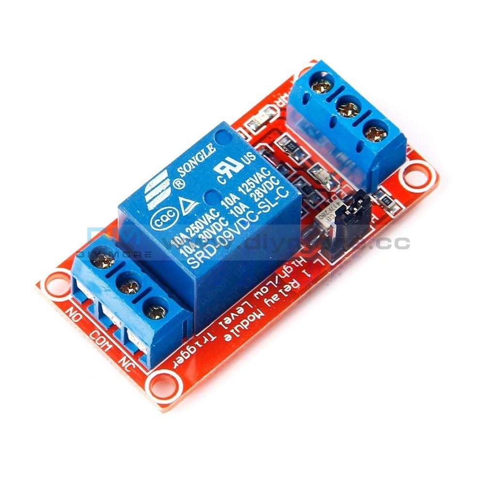 1 Channel Optocoupler Relay Module Support High And Low Trigger Dc 5V/9V/12V/24V 1-Channel Delay